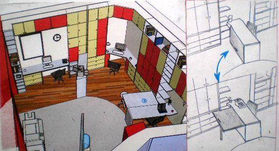 design d espace l agence. Black Bedroom Furniture Sets. Home Design Ideas